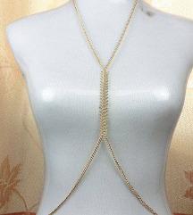ogrlica za tijelo nova