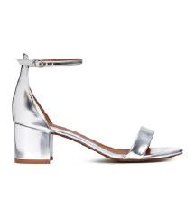 * ASOS srebrne cipele sa blok petom * 41. vel.