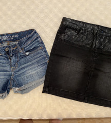 Lot suknja & kratke hlače
