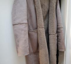 ZARA kaput s dvije strane - teddy coat
