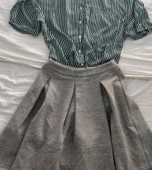 Lot Bershka bluza + Reserved suknja