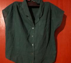Zelena kratka košuljica