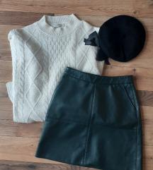 Mini 🍁KOŽNA🍁 suknja