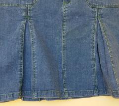 Traper suknja s faldama