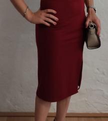 Bordo univerzalna haljina