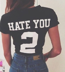 Hate you 2 majica