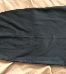 Zara crna MIDI suknja