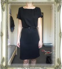 Crna haljina - TOM TAILOR, vel. XS/S (34/36)