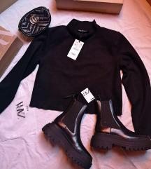 majica Zara sa visokim ovratnikom