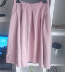 Mohito roza midi suknja
