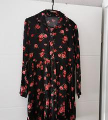 STRADIVARIUS košulja haljina S