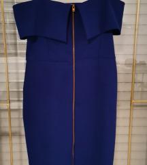 Plava haljina M