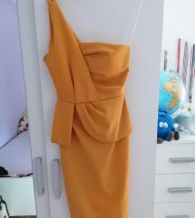 Nova oker haljina uni.velicine