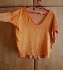 Senf svilena ljetna majica xs/s
