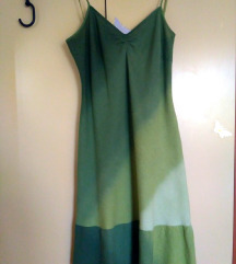 zelena ljetna haljina