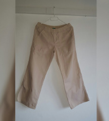 Benetton krem hlače, ljetne traperice