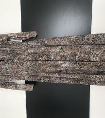 Haljina zmijskog uzorka