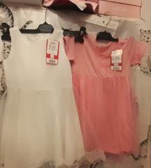 Nove haljine lot vel 3,4 god uklj pt tisak