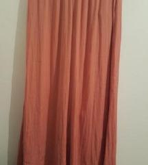 Zara palazzo roze hlače