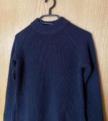 Plavi džemper H&M