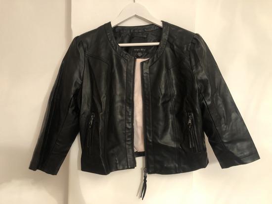 Kožna kratka jakna
