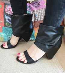 ASH crne kožne sandale Vel. 39