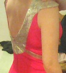 AKCIJA * Prekrasna crvena duga svečana haljina