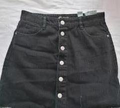 Traper suknja sa gumbima Zara
