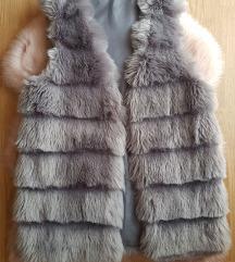 Siva bunda prsluk