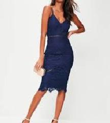 Missguided čipka haljina