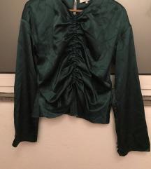 Fina modrozelena bluza L