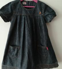 NOVO! jeans haljina - vel.122