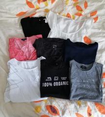 Lot 8 majica kratkih rukava