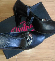 Neosen kožne cipele na petu