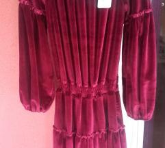 haljina M, bordo