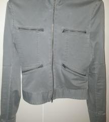 H&M maslinasta jakna