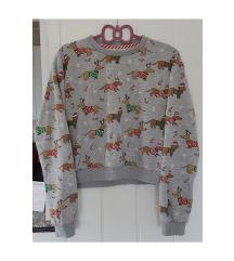 Božićna majica sa psićima
