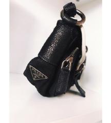 PRADA original vintage leather nylon torba