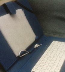 KORICE ZA TABLET S USB TIPKOVNICOM koža