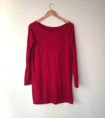Crvena basic haljina