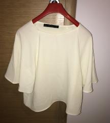 Majica krem bijela