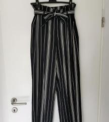 nove H&M hlače visoki struk 40