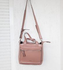 PARFOIS nova baby pink lakirana torba