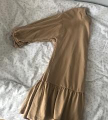Bež asos haljina