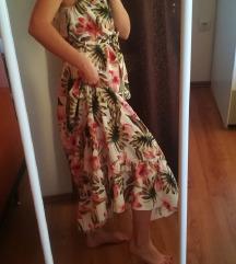Maxi haljina cvjetnog uzorka