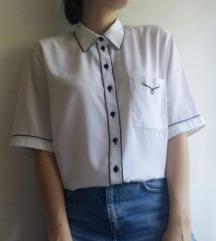 retro bijela košulja