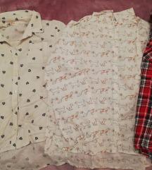 Lot od 3 košulje za djevojčice Zara i HundM