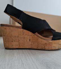 Clarks kožne sandale 40