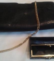 Elegantna torbica i novčanik - prava zmijska koža