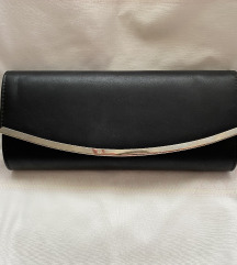 Crna clutch torbica %%